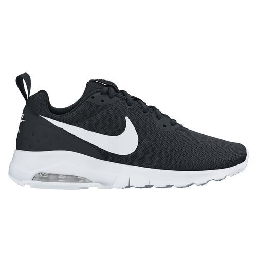 The Nike™ Women's Air Max Motion Running Shoes feature mesh uppers with  leather overlays and