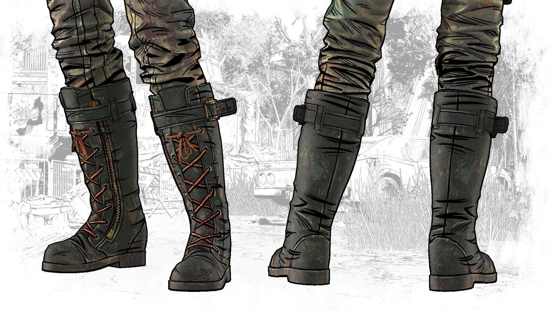 ArtStation The Walking Dead The Final Season