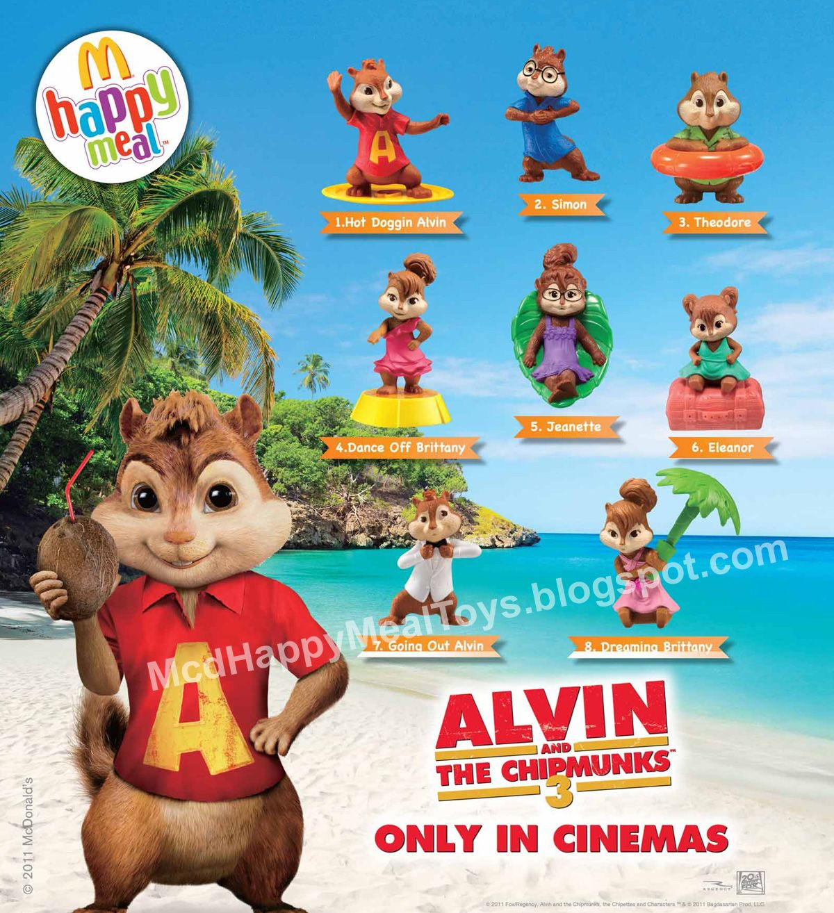 Pin By Nicole On Mcdonalds Toys Happy Meal Toys Happy Meal Alvin And The Chipmunks