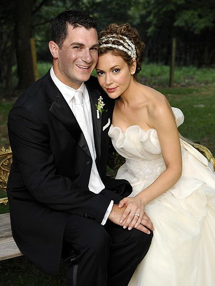 Alyssa Milano Dave Bugliari : alyssa, milano, bugliari, Alyssa, Milano, Celebrity, Bride,, Wedding, Photos,, Dresses