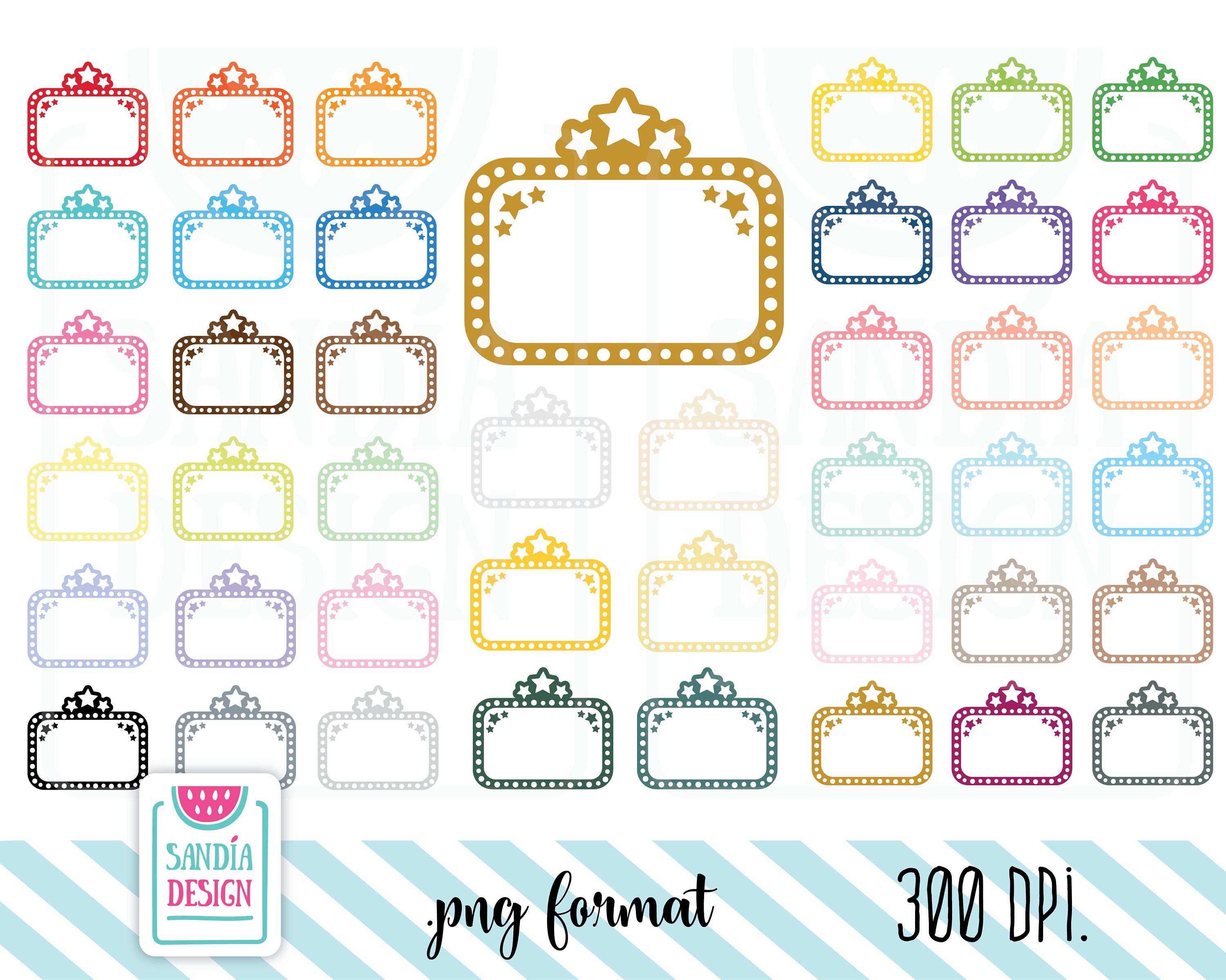 42 movie marquee clipart planner stickers clipart personal and rh pinterest com movie marquee clip art for word documents movie marquee clip art for word documents
