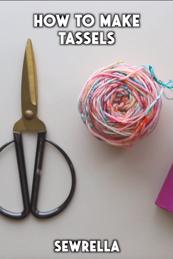Photo of How to Make Tassels – free tutorial