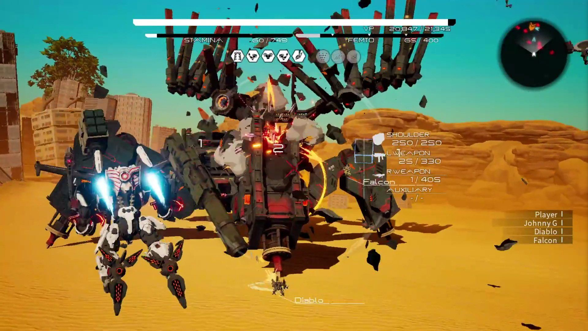 Takeaways from 30 minutes of Daemon X Machina gameplay ...