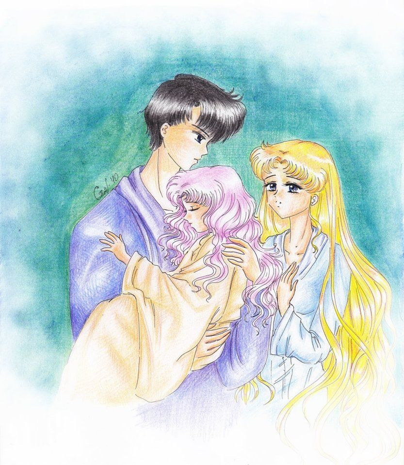 Serenity\'s Family by SelenaSeleria on DeviantArt | sailor moon ...