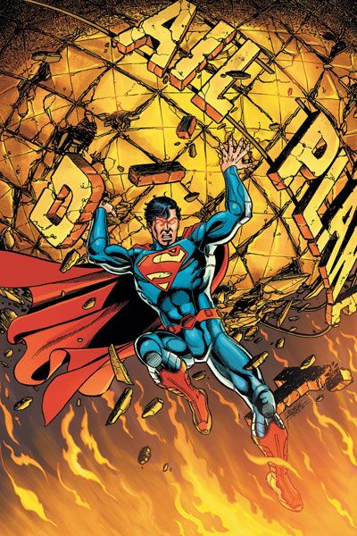 Superman #1 Cover by George Perez (New 52)