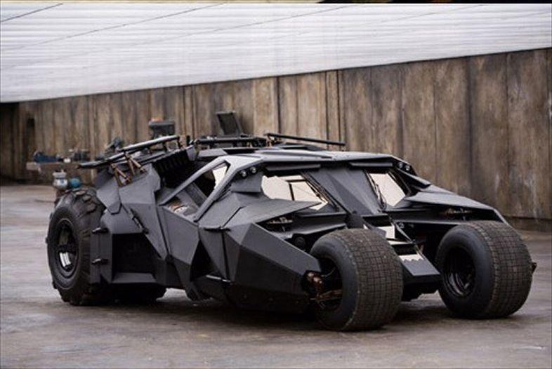 "The Tumbler. ""Batman Begins"""