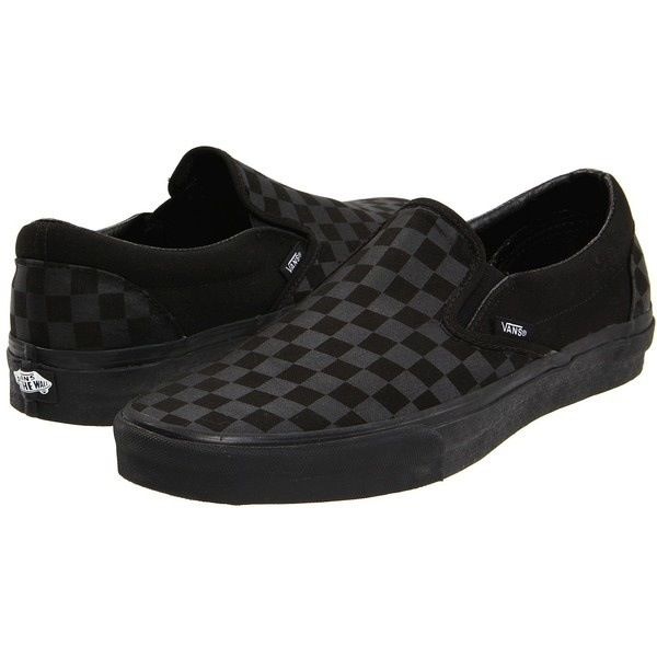 64447b181438 Black checkered vans- my shoes that I hope I receive today!