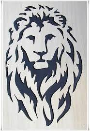 stencil de leon buscar con google scroll saw home decor decor rh pinterest ch stencil leon gto