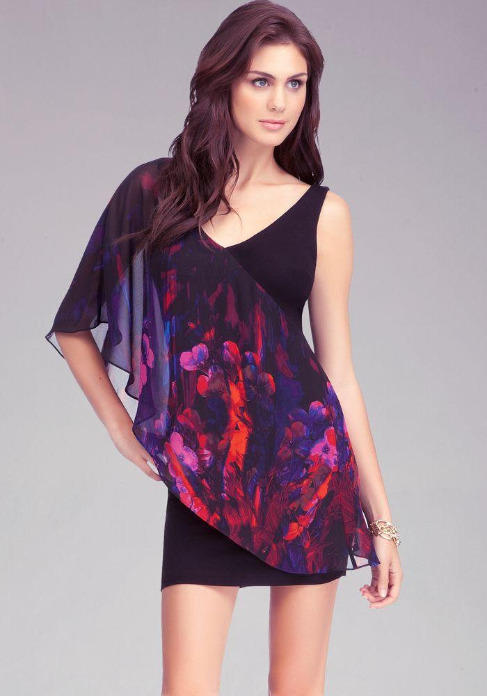 Floral Asymmetric Dress   Vestidos   Pinterest   Vestiditos
