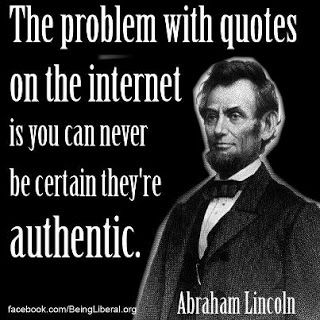 Abraham Lincoln Humorous Quote Quotes