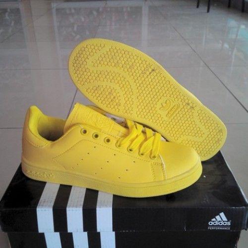 adidas stan smith yellow