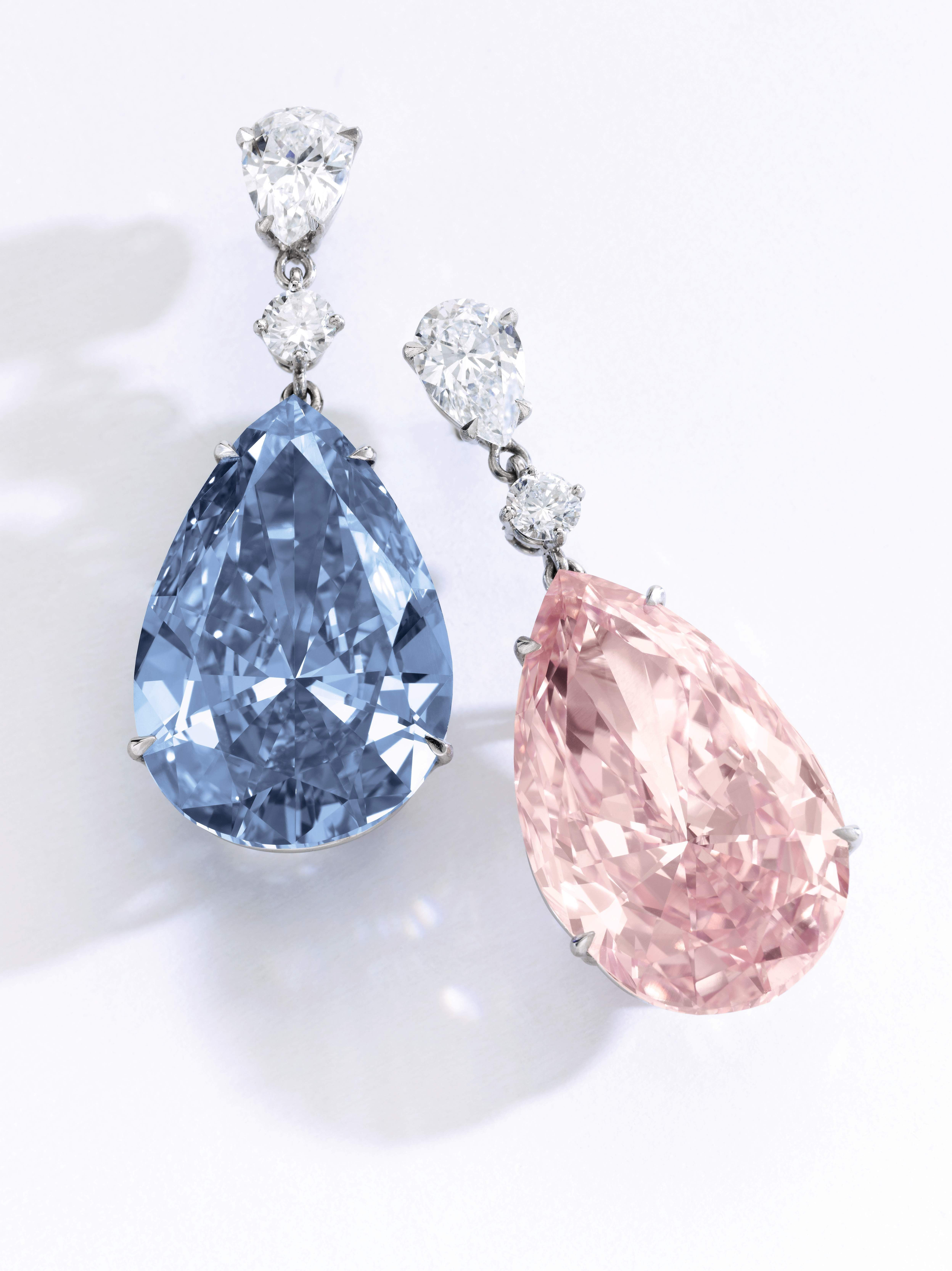 7afbaa34b8f0 The auction house is billing the sale as the most valuable diamond ...