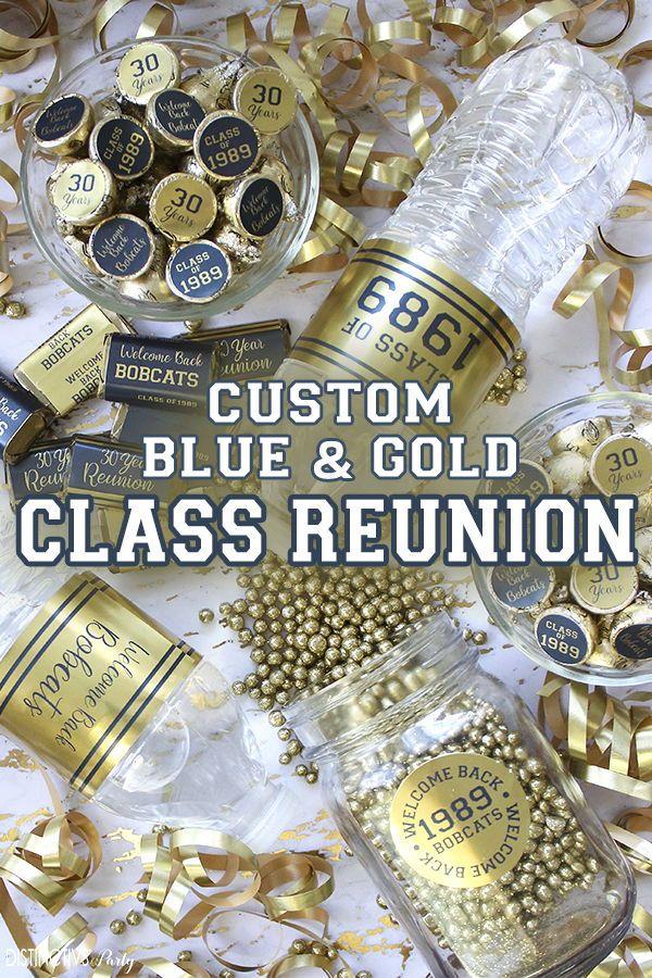 Class Reunion decorations  1971 Class Reunion Banner  20th 25th 30th Year Class Reunion  Graduation Party Decor  You Pick the Colors