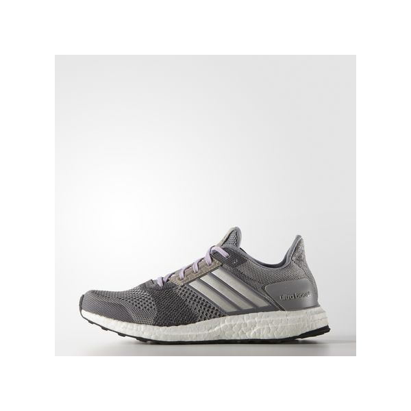 reputable site d3451 79614 adidas Ultra Boost ST Shoes ( 180) ❤ liked on Polyvore featuring shoes,  athletic shoes, grey, grey shoes, running training shoes, athletic running  shoes, ...