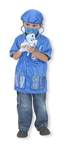 Melissa And Doug Veterinarian Role Play Costume Set You