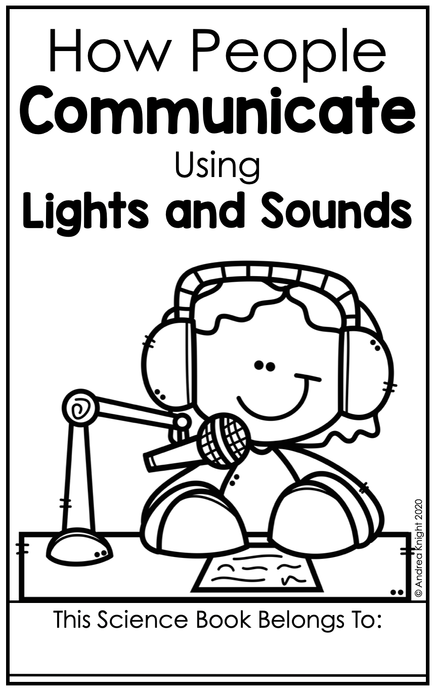 Light and Sound Science for First Grade (NGSS Aligned)   Sound science [ 1368 x 858 Pixel ]