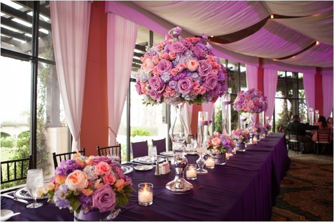 Lavender And Coral Flower Arrangements Photo Jw Baugh