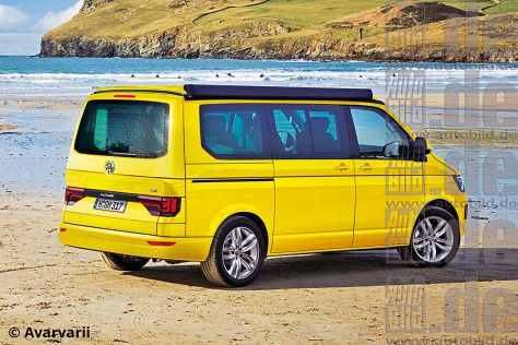 Vw T6 Multivan 2015 Preise Vw T6 Auto Bild Vw T5