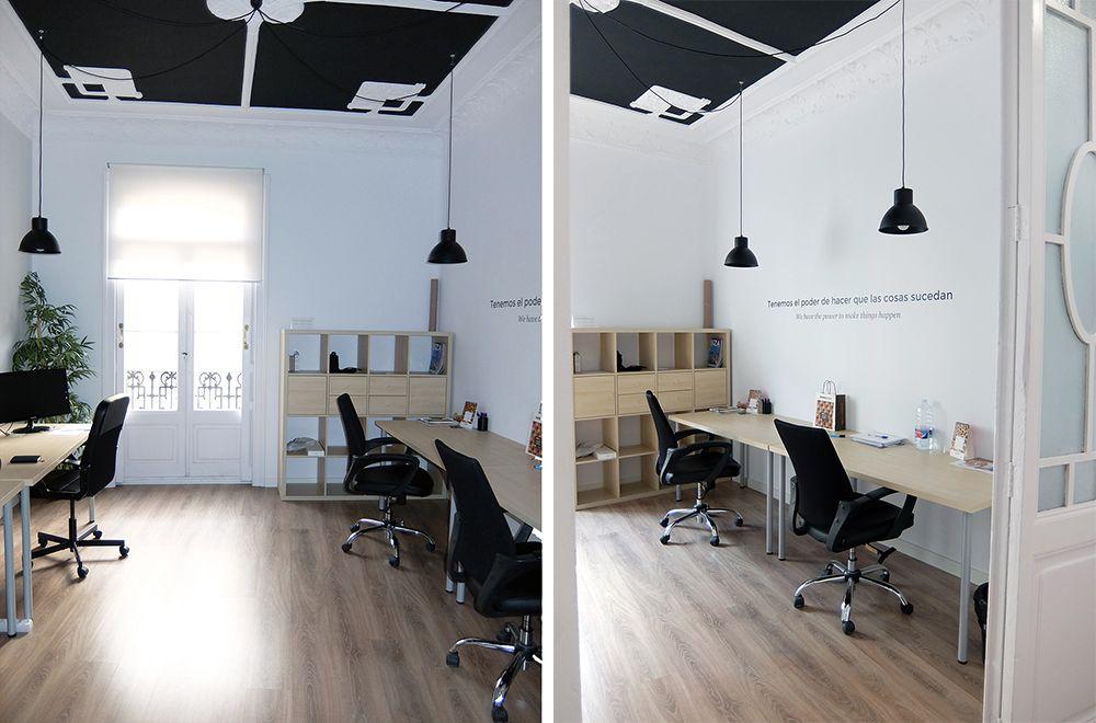 Dise o oficinas multiconversion en valencia dise o Despachos de diseno de interiores df