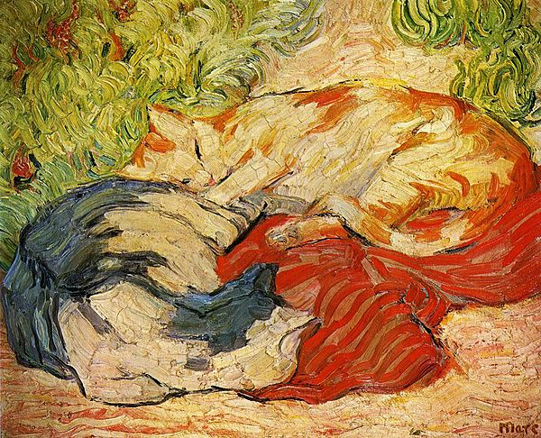 Cats by Franz Marc Franz marc, Impressionist paintings