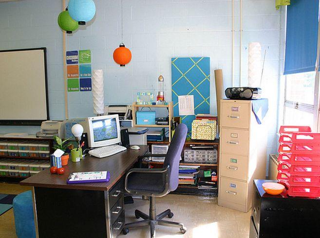A Retro Inspired Classroom