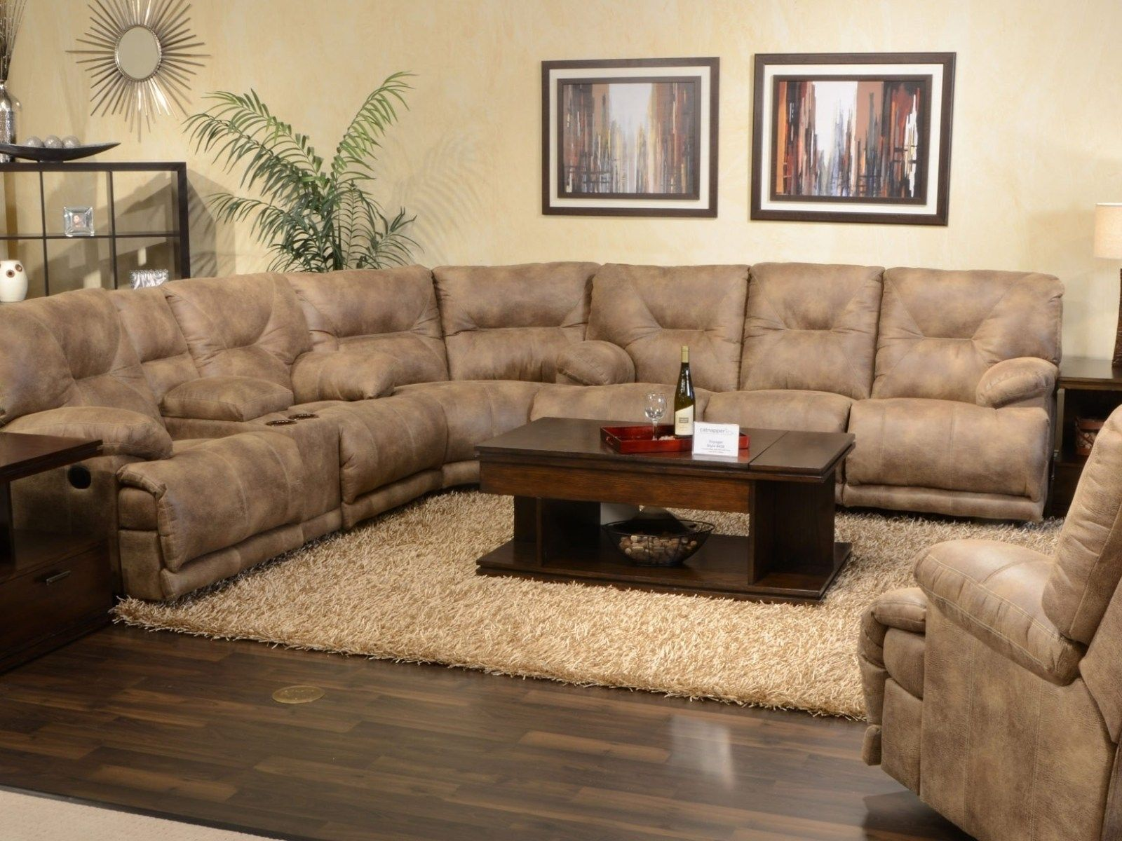 Rustic Sectional Couches
