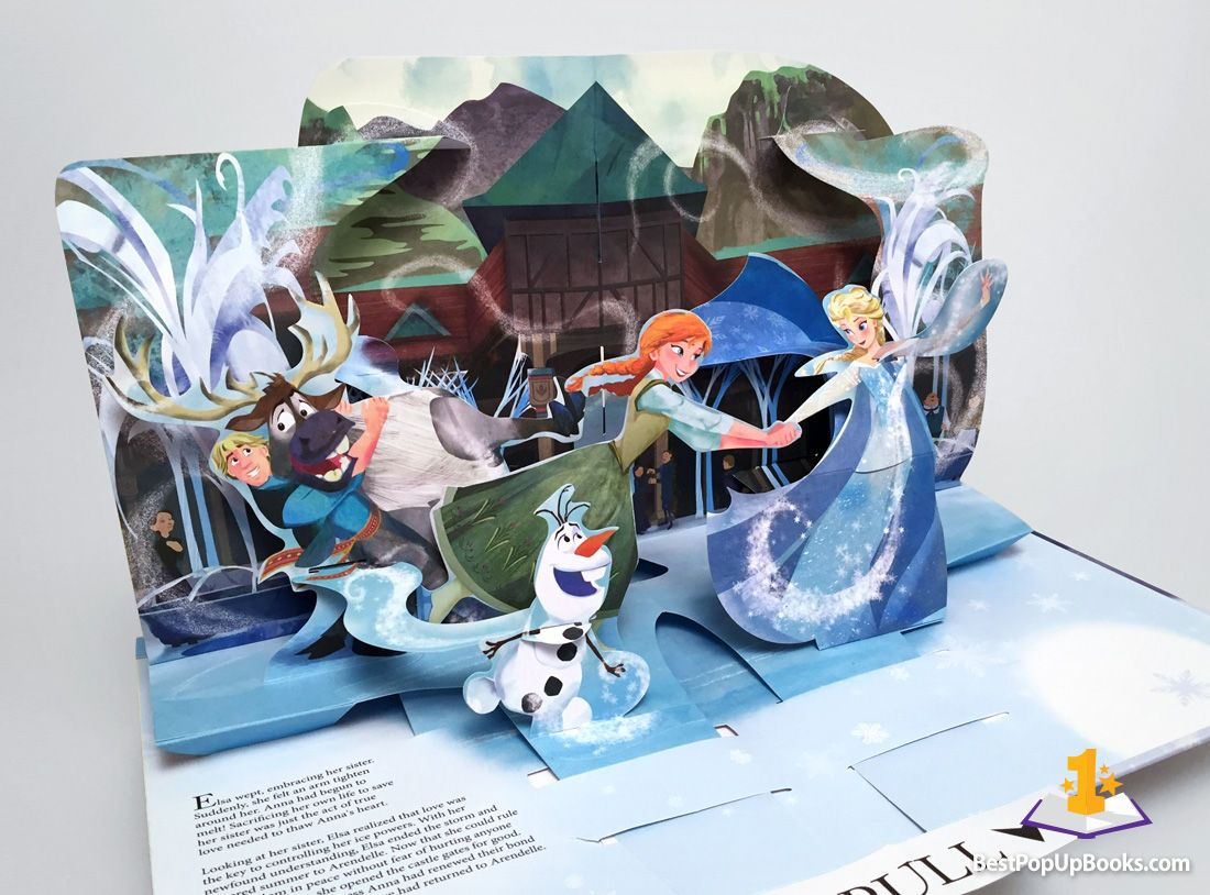 Disney S Frozen A Pop Up Book Adventure By Matthew Reinhart Pop Up Book Pop Up Art Diy Pop Up Book