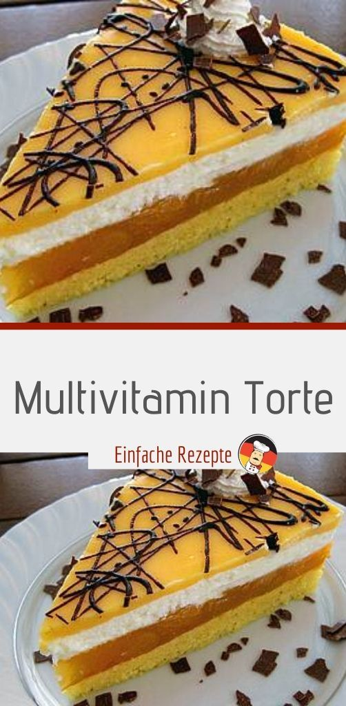 Multivitamin Torte  #kuchenideen