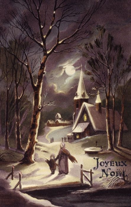 Beautiful vintage french christmas greeting card vintage christmas beautiful vintage french christmas greeting card vintage christmas cards style inspiration please choose vegan art supplies navidad christmas m4hsunfo