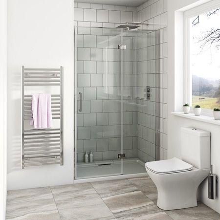 Mode Beck Premium Mm Hinged Easy Clean Shower Door Clean Shower - Easy to clean bathroom tile