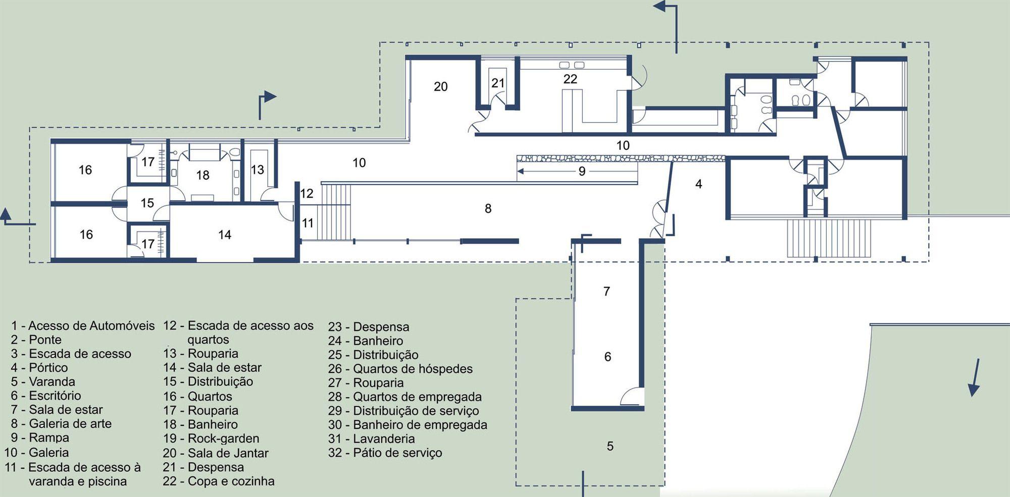 Galeria De Classicos Da Arquitetura Casa Lota De Macedo Soares