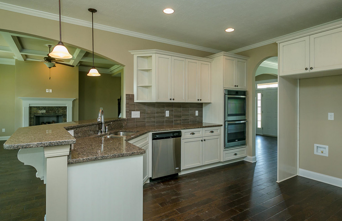 Kitchen Granite Counterspace Stainlesssteelappliances Home Builders Home Kitchens Building A House