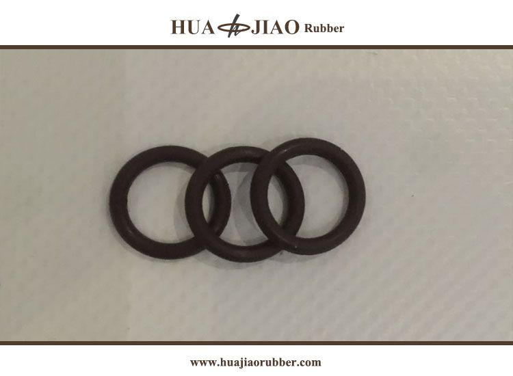 Fpm O Ring Seals Rubber Product 10mm 2mm Brown Rubber Material Seal
