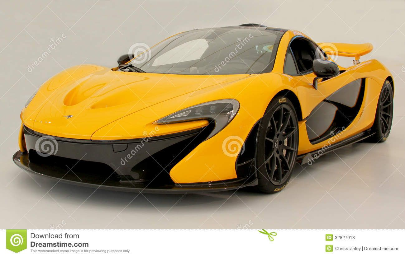 Latest McLaren P1 Sports Car Unveiled At The Goodwood Festival Of Speed For  The First Time