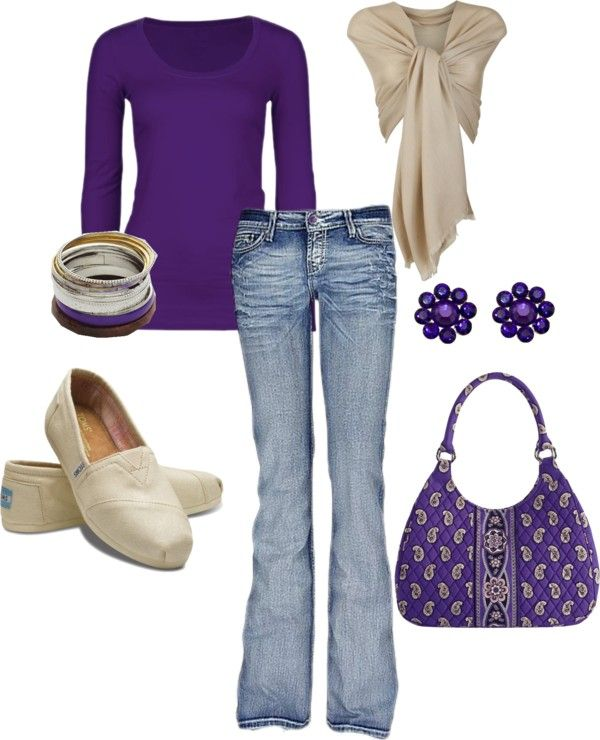 """""""Purple"""" by wendi-roundy on Polyvore"""