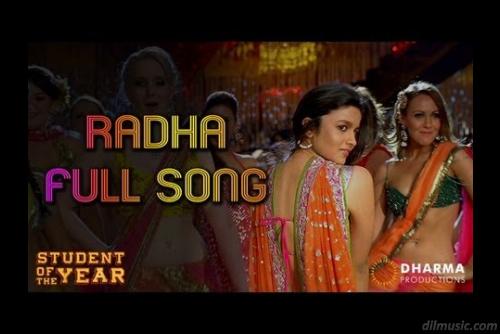 Radha Song Video Lyrics Student Of The Year Songs Student Of The Year Mp3 Song