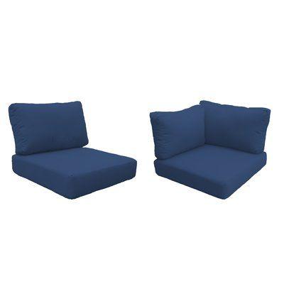 Sol 72 Outdoor Fairfield 15 Piece Indoor Outdoor Cushion Cover Set In 2020 Outdoor Cushion Covers Replacement Cushions Outdoor Outdoor Lounge Chair Cushions