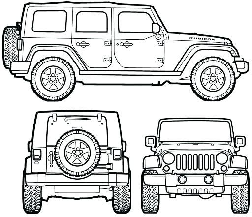 jeep para colorear jeep para jeep wrangler | jeep | Pinterest | Jeep ...