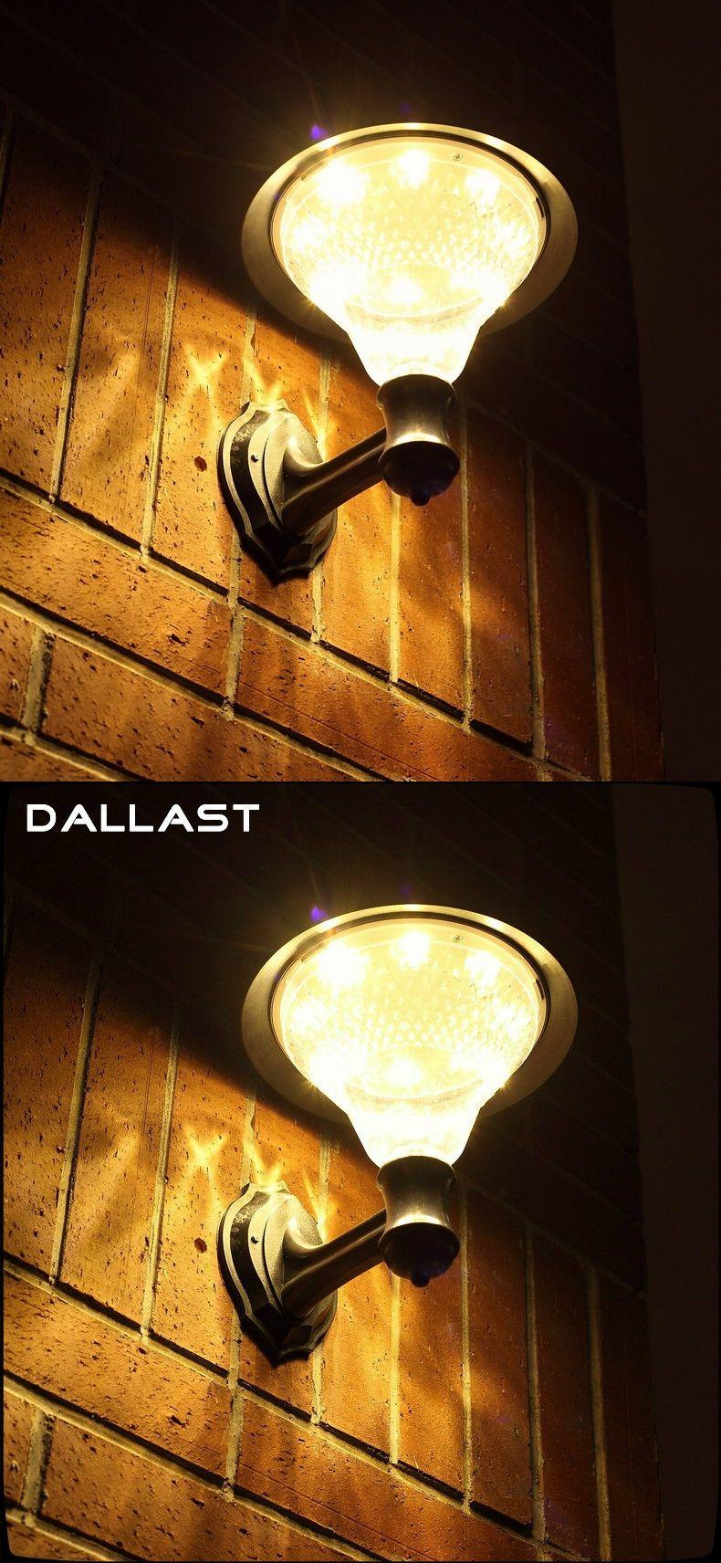 Solar lamp wall lights solar light light sensor solar garden lights