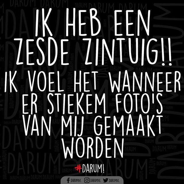 Altijd...  #darum