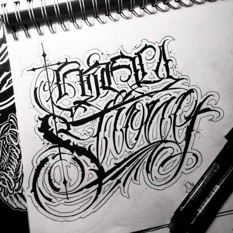 Graffiti Tattoo Lettering Generator: Tattoo Master With Graffiti Roots. Since 2001, My Passion