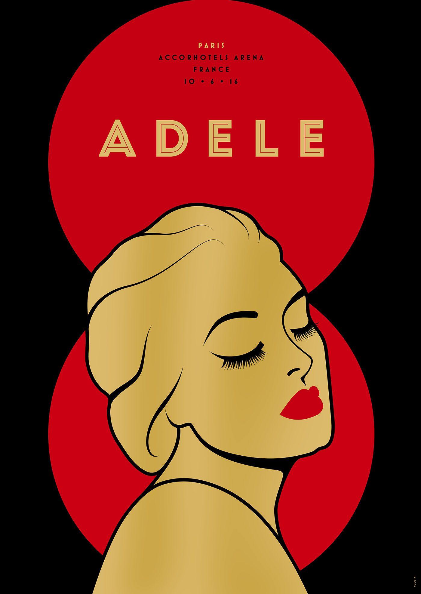 Adele - European Tour 2016 on Behance