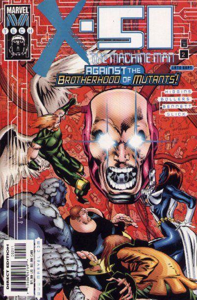 X-51 - The Machine Man # 2 by Joe Bennett & Mark Pennington