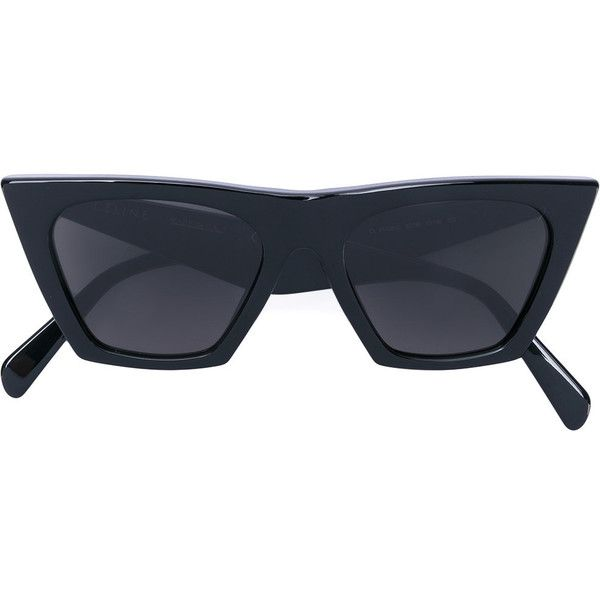 Céline Eyewear cat-eye acetate sunglasses (3 370 SEK) ❤ liked on Polyvore  featuring accessories 878cd562c08fd