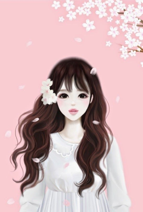 korean girl animation pictures