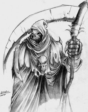 grim reaper sketch tattoo pinterest grim reaper sketches and