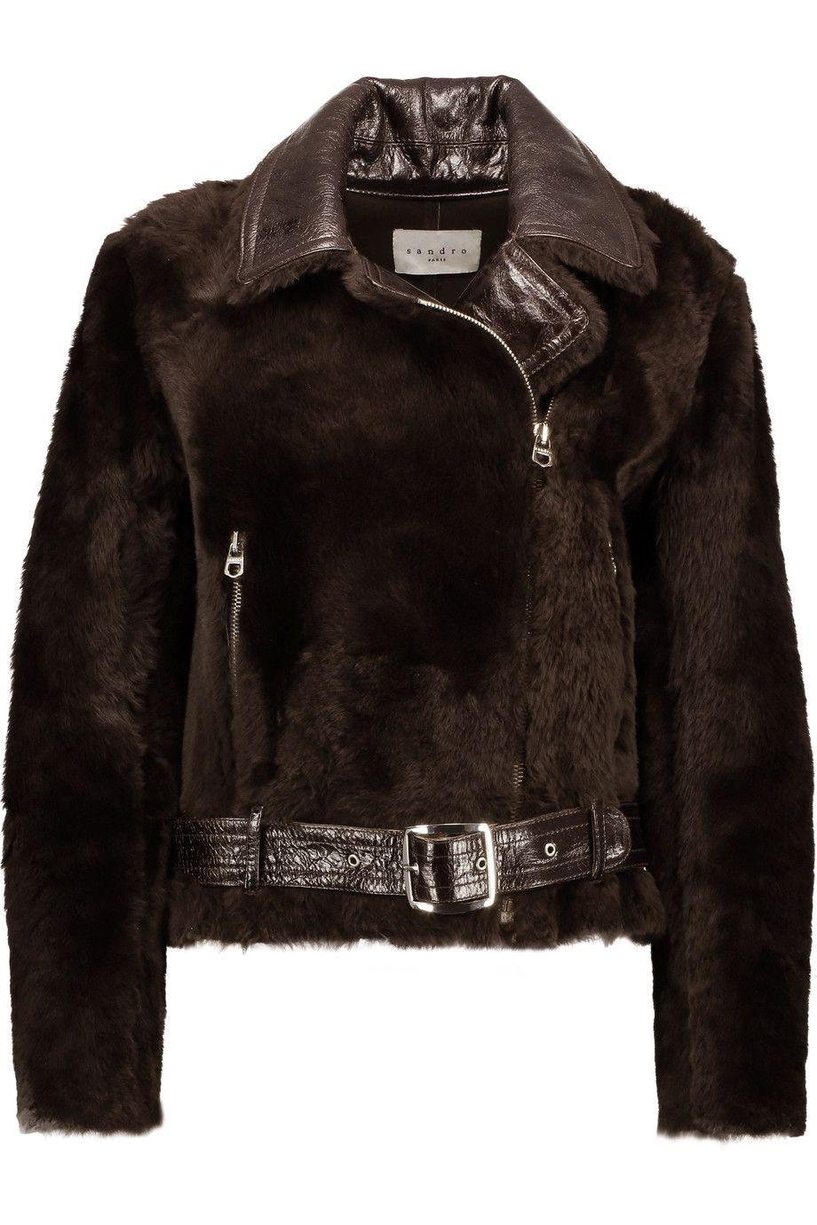 Sandro zip coat