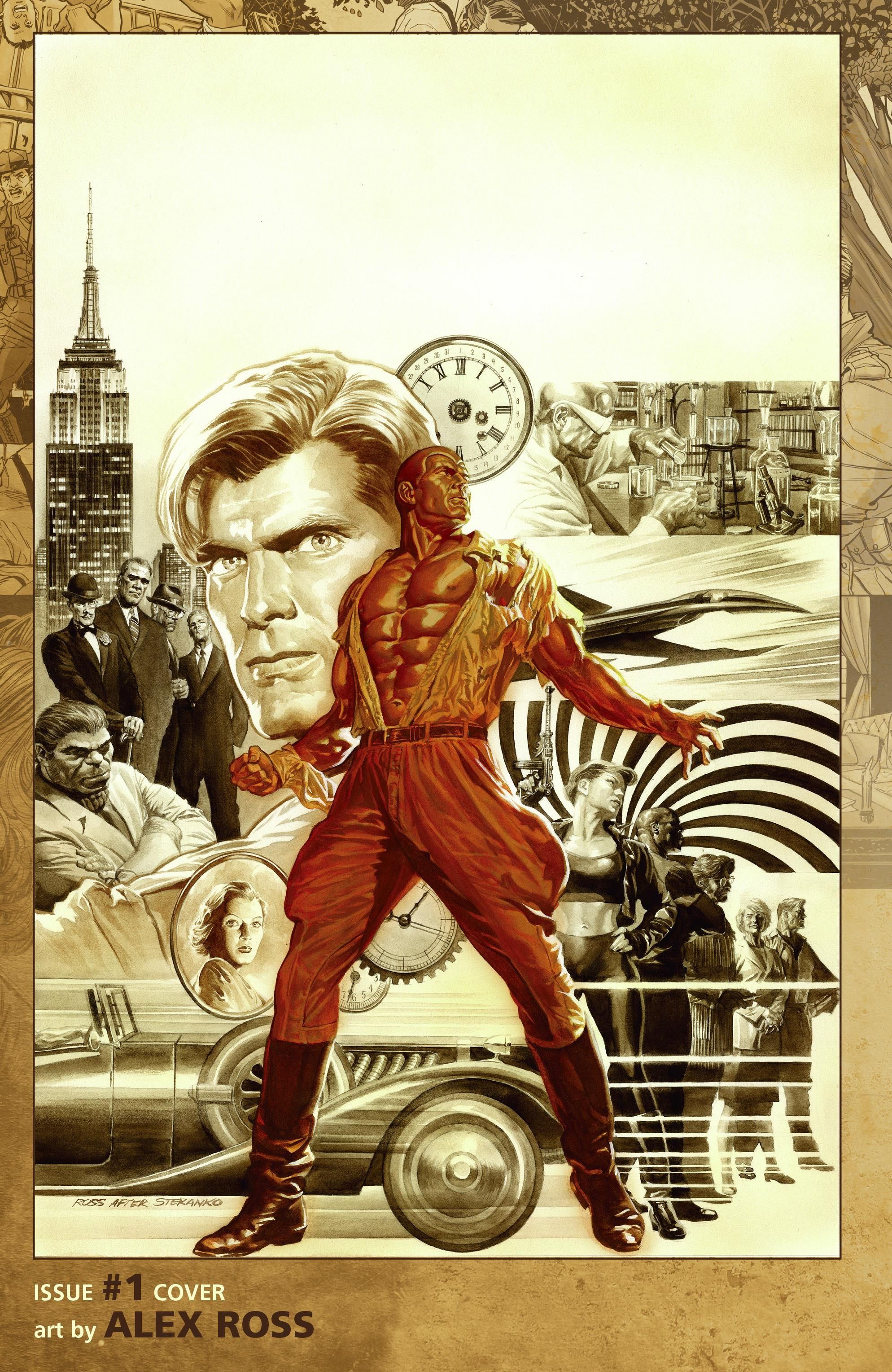 Doc Savage by Alex Ross