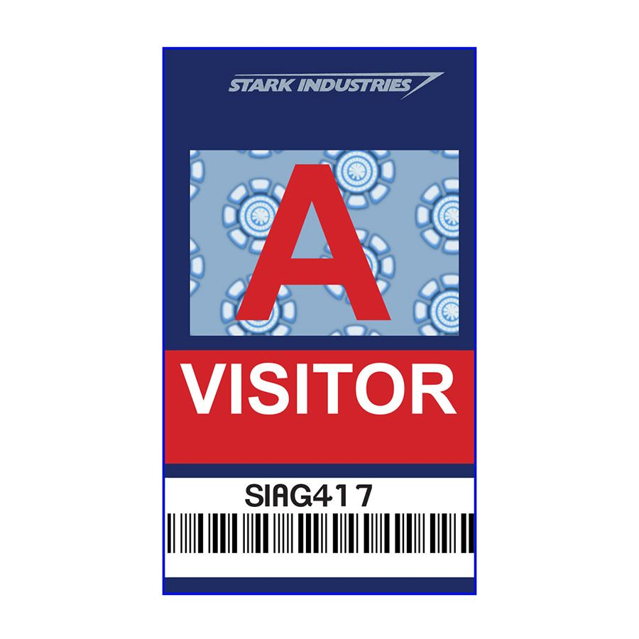 Stark Industries Visitor ID Badge Just 250 From Alien Graphics
