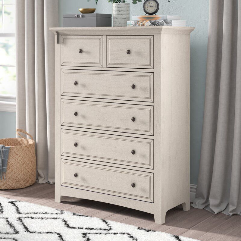Woodside 5 Drawer Dresser Reviews Joss Main Dresser Drawers Tall White Dresser Girl Dresser White wood chest of drawers